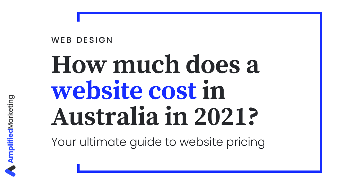 How much does a website cost in Australia?