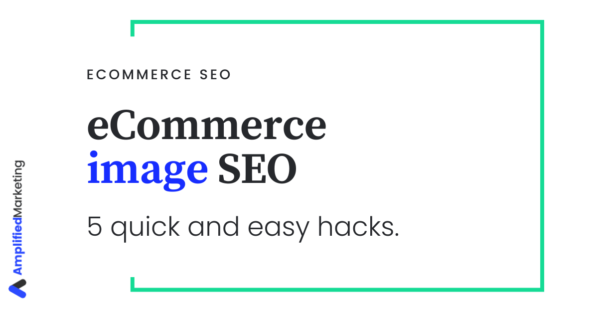 SEO for eCommerce images