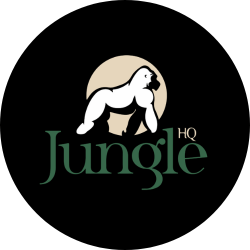 Jungle HQ logo - client of Amplified Marketing
